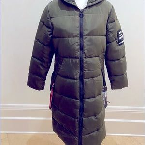 BOY STEEL IN THE HOUR OF CHAOS PUFFER COAT